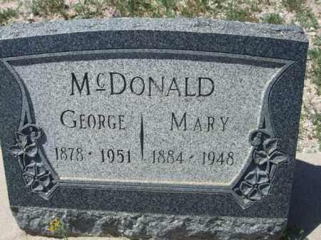 MCDONALD, MARY - Pima County, Arizona | MARY MCDONALD - Arizona Gravestone Photos