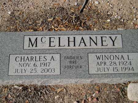 MCELHANEY, CHARLES A. - Pima County, Arizona | CHARLES A. MCELHANEY - Arizona Gravestone Photos
