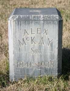 MCKAY, ALEX SR. - Pima County, Arizona   ALEX SR. MCKAY - Arizona Gravestone Photos