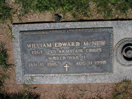 MCNEW, WILLIAM EDWARD - Pima County, Arizona | WILLIAM EDWARD MCNEW - Arizona Gravestone Photos