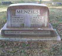 MENZIES, EDWARD ALFRED - Pima County, Arizona | EDWARD ALFRED MENZIES - Arizona Gravestone Photos