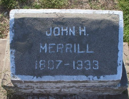 MERRILL, JOHN H - Pima County, Arizona | JOHN H MERRILL - Arizona Gravestone Photos