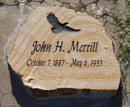 MERRILL, JOHN H #2 - Pima County, Arizona | JOHN H #2 MERRILL - Arizona Gravestone Photos