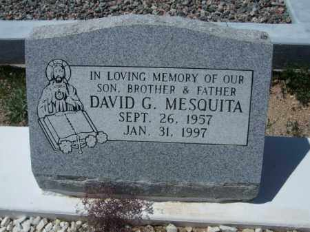 MESQUITA, DAVID G. - Pima County, Arizona | DAVID G. MESQUITA - Arizona Gravestone Photos