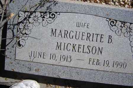 MICKELSON, MARGUERITE B. - Pima County, Arizona | MARGUERITE B. MICKELSON - Arizona Gravestone Photos