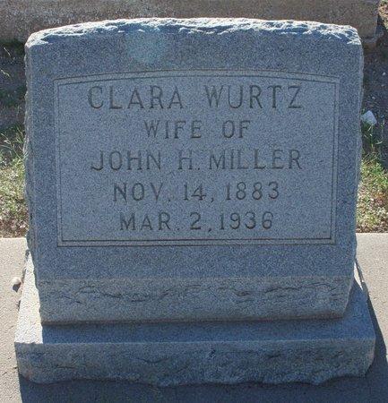 WURTZ MILLER, CLARA F - Pima County, Arizona | CLARA F WURTZ MILLER - Arizona Gravestone Photos