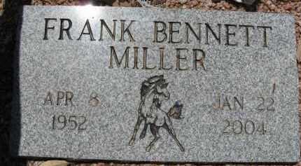 MILLER, FRANK BENNETT - Pima County, Arizona   FRANK BENNETT MILLER - Arizona Gravestone Photos