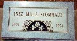 MILLS KLOMHAUS, INEZ - Pima County, Arizona | INEZ MILLS KLOMHAUS - Arizona Gravestone Photos