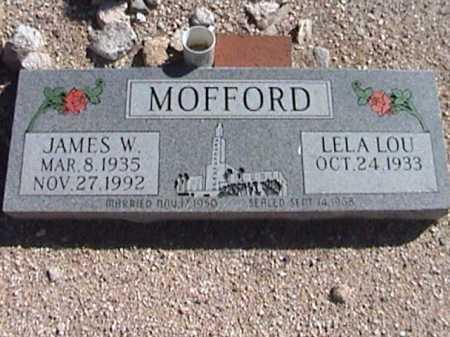 MOFFORD, LELA LOU - Pima County, Arizona | LELA LOU MOFFORD - Arizona Gravestone Photos