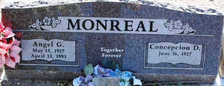 MONREAL, CONCEPCION D. - Pima County, Arizona   CONCEPCION D. MONREAL - Arizona Gravestone Photos