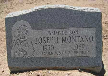 MONTANO, JOSEPH - Pima County, Arizona   JOSEPH MONTANO - Arizona Gravestone Photos