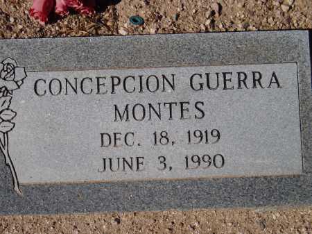 MONTES, CONCEPCION GUERRA - Pima County, Arizona | CONCEPCION GUERRA MONTES - Arizona Gravestone Photos
