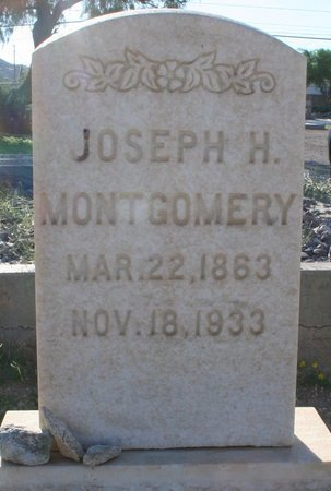MONTGOMERY, JOSEPH HENRY - Pima County, Arizona | JOSEPH HENRY MONTGOMERY - Arizona Gravestone Photos