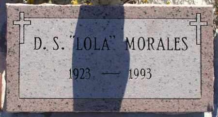 "MORALES, DOLORES S. ""LOLA"" - Pima County, Arizona | DOLORES S. ""LOLA"" MORALES - Arizona Gravestone Photos"
