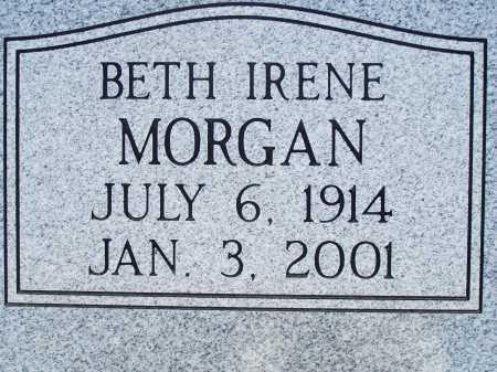 MORGAN, BETH IRENE - Pima County, Arizona   BETH IRENE MORGAN - Arizona Gravestone Photos