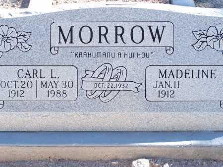 MORROW, MADELINE - Pima County, Arizona | MADELINE MORROW - Arizona Gravestone Photos