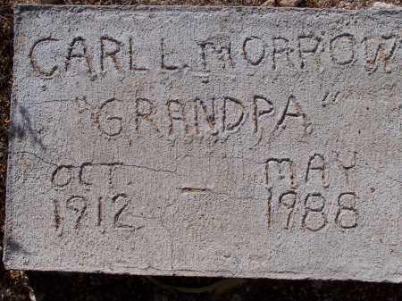 MORROW, CARL L. - Pima County, Arizona | CARL L. MORROW - Arizona Gravestone Photos