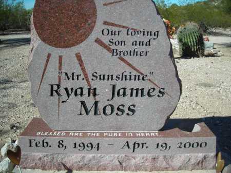 MOSS, RYAN JAMES - Pima County, Arizona | RYAN JAMES MOSS - Arizona Gravestone Photos