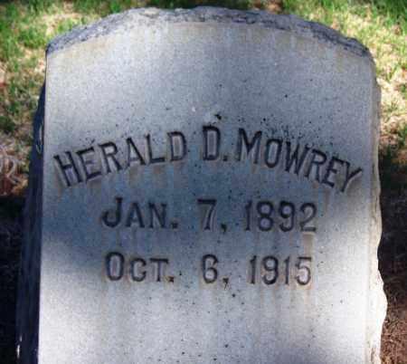 MOWREY, HERALD D. - Pima County, Arizona   HERALD D. MOWREY - Arizona Gravestone Photos