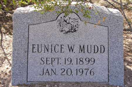 MUDD, EUNICE W. - Pima County, Arizona | EUNICE W. MUDD - Arizona Gravestone Photos