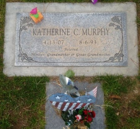 MURPHY, KATHERINE C. - Pima County, Arizona | KATHERINE C. MURPHY - Arizona Gravestone Photos