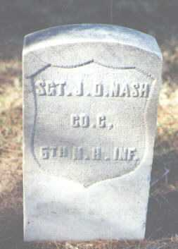 NASH, J. D. - Pima County, Arizona | J. D. NASH - Arizona Gravestone Photos