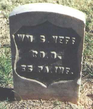 NEFF, WILLIAM S. - Pima County, Arizona   WILLIAM S. NEFF - Arizona Gravestone Photos