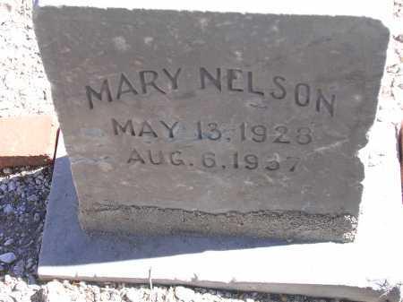 NELSON, MARY - Pima County, Arizona | MARY NELSON - Arizona Gravestone Photos