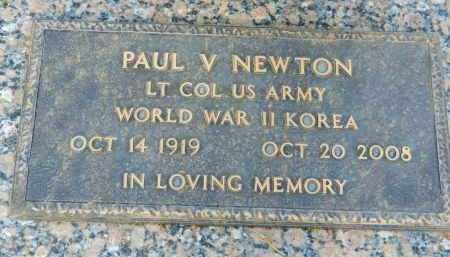 NEWTON, PAUL V. - Pima County, Arizona | PAUL V. NEWTON - Arizona Gravestone Photos