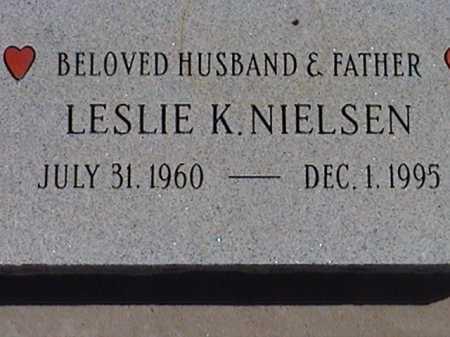 NIELSEN, LESLIE K. - Pima County, Arizona | LESLIE K. NIELSEN - Arizona Gravestone Photos