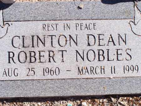 NOBLES, CLINTON DEAN ROBERT - Pima County, Arizona   CLINTON DEAN ROBERT NOBLES - Arizona Gravestone Photos