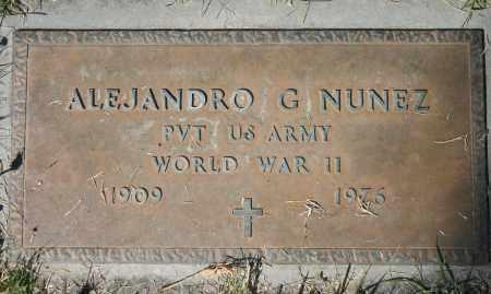 NUNEZ, ALEJANDRO G - Pima County, Arizona | ALEJANDRO G NUNEZ - Arizona Gravestone Photos