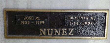 NUNEZ, JOSE M - Pima County, Arizona | JOSE M NUNEZ - Arizona Gravestone Photos