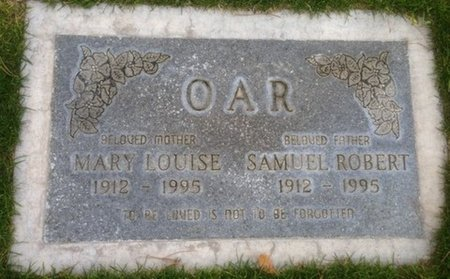 OAR, MARY LOUISE - Pima County, Arizona | MARY LOUISE OAR - Arizona Gravestone Photos