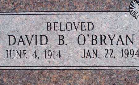 O'BRYAN, DAVID B. - Pima County, Arizona | DAVID B. O'BRYAN - Arizona Gravestone Photos