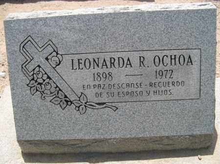 OCHOA, LEONARDA R. - Pima County, Arizona | LEONARDA R. OCHOA - Arizona Gravestone Photos