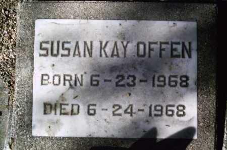 OFFEN, SUSAN KAY - Pima County, Arizona | SUSAN KAY OFFEN - Arizona Gravestone Photos