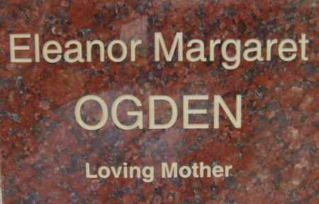 OGDEN, ELEANOR MARGARET - Pima County, Arizona | ELEANOR MARGARET OGDEN - Arizona Gravestone Photos