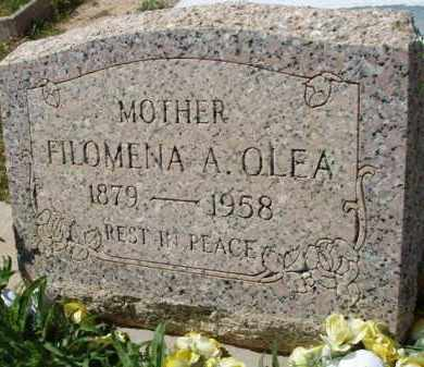 OLEA, FILOMENA A. - Pima County, Arizona | FILOMENA A. OLEA - Arizona Gravestone Photos