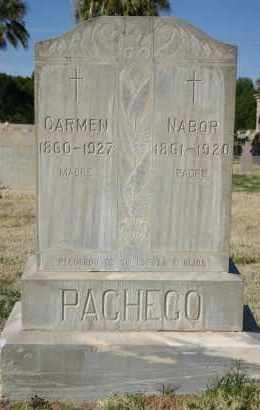PACHECO, CARMEN - Pima County, Arizona | CARMEN PACHECO - Arizona Gravestone Photos