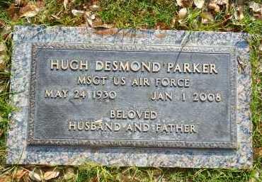 PARKER, HUGH DESMOND - Pima County, Arizona | HUGH DESMOND PARKER - Arizona Gravestone Photos