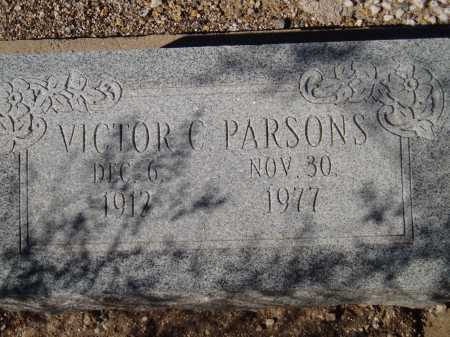 PARSONS, VICTOR C. - Pima County, Arizona   VICTOR C. PARSONS - Arizona Gravestone Photos