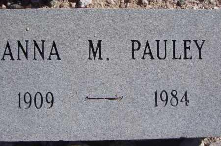 PAULEY, ANNA M. - Pima County, Arizona   ANNA M. PAULEY - Arizona Gravestone Photos