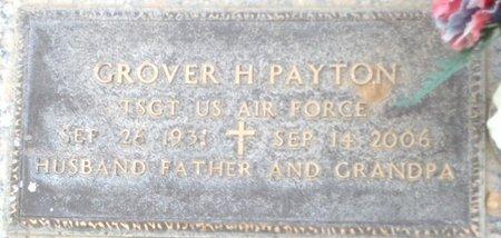 PAYTON, GROVER H - Pima County, Arizona | GROVER H PAYTON - Arizona Gravestone Photos