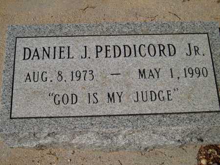 PEDDICORD, DANIEL J. JR. - Pima County, Arizona   DANIEL J. JR. PEDDICORD - Arizona Gravestone Photos