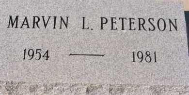 PETERSON, MARVIN L. - Pima County, Arizona   MARVIN L. PETERSON - Arizona Gravestone Photos