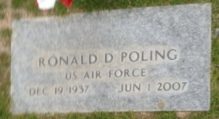 POLING, RONALD D. - Pima County, Arizona | RONALD D. POLING - Arizona Gravestone Photos