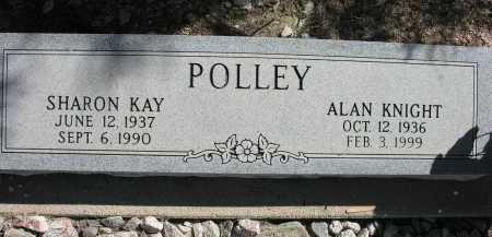 POLLEY, ALAN KNIGHT - Pima County, Arizona | ALAN KNIGHT POLLEY - Arizona Gravestone Photos