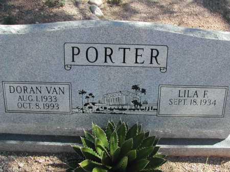 PORTER, DORAN VAN - Pima County, Arizona | DORAN VAN PORTER - Arizona Gravestone Photos
