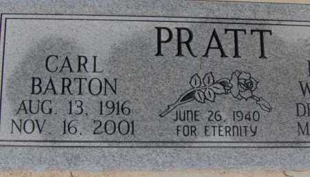 PRATT, CARL BARTON - Pima County, Arizona | CARL BARTON PRATT - Arizona Gravestone Photos